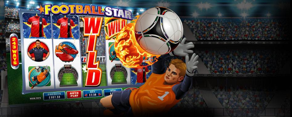 FootballStar_LandingPage