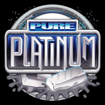 pure platinum slot game logo